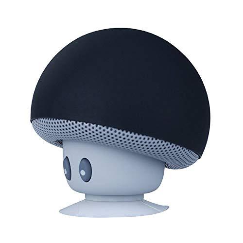 Gutyan Bluetooth Lautsprecher Musikbox Tragbarer Led Bluetooth Box, Karikatur Pilz Drahtloser Minilautsprecher Audio Wasserdichter Mit Saugnapf Unterseite