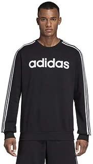 Men's Essentials 3-stripes Fleece Crew Sweatshirt