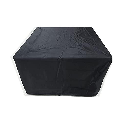 Cubierta cúbica para Muebles de jardín, Impermeable y Resistente al Viento, Cubierta para Muebles de terraza, Resistente, 210D, Tela Oxford, Cubierta para Mesa de jardín, terraza al Aire Libre