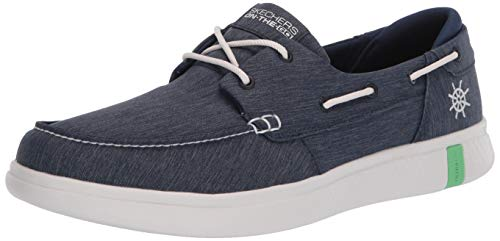 Skechers Women's Glide ULTRA-136151 Boat Shoe, Navy, 11 Medium US