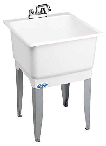 E.L. Mustee Son Laundry Tub Combo Economy 14CP