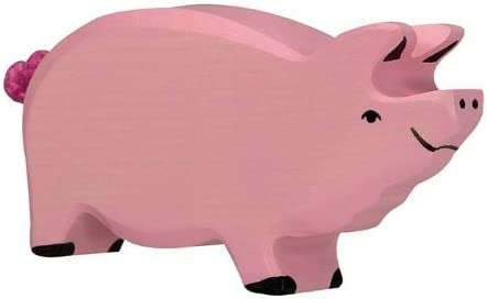 Holztiger Special Price reduction price Wooden Pig