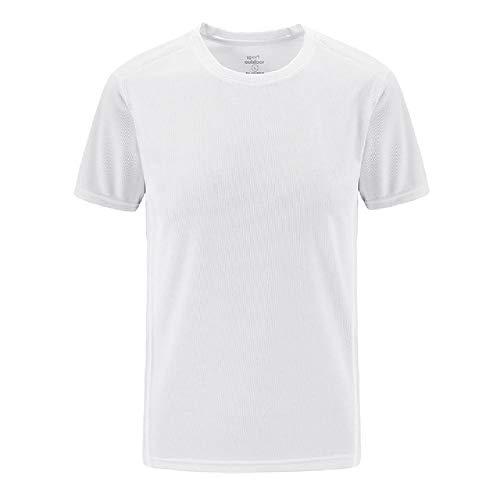 Talla Grande 6XL 7XL 8XL Camiseta Hombre Camiseta Hombre Exterior Secado rápido Ropa Deportiva Camisetas Fitness para Gimnasio Corredores Running Hombre Camiseta