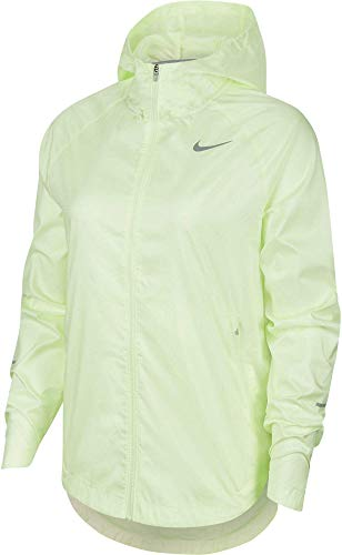 Nike W NK Run DVN ESSNTL - Giacca, BARELY VOLT/REFLECTIVE SIL, XS