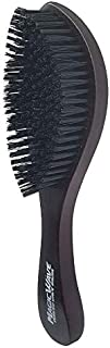 Black Ice Magic Wave 9.25'' Curved Wave Brush Hard Premium Boar by Black Ice