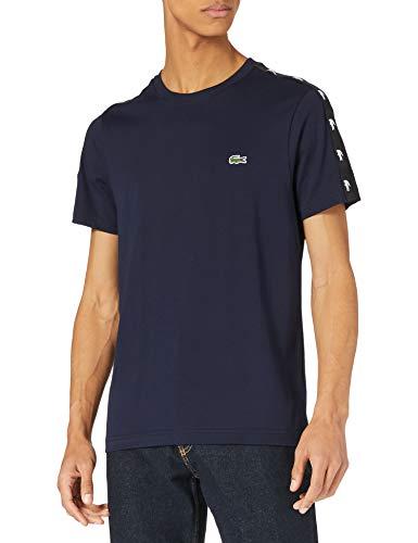Lacoste TH5172 T-Shirt, Marine/Noir, M Homme