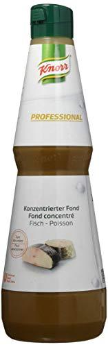 Knorr Professional Fischfond konzentriert (ausgewogene Basis für Saucen und Suppen) 1er Pack (1x1L)