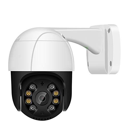 PTZ Cámara IP CCTV PoE al Aire Libre 4X Zoom Digital AI Detección Humana Detección de Dos vías Audio SD Slot Slot PTZ Cámaras de Seguridad cámaras de Seguridad Sistemas de Seguridad para el