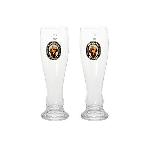 RASTAL Franziskaner Weizenbierglas 0,5 l, 2er Pack