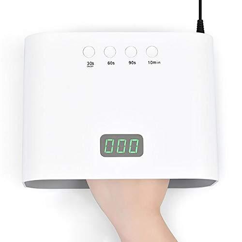 90W High Power Nail Dryer, utilisé pour Le séchage Gel de Polissage et LED à séchage Rapide Lampe Professionnel, utilisé pour Le Traitement des Ongles