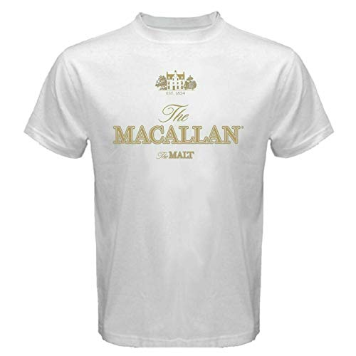 The MACALLAN Est 1824 The Malt Scotch Whisky T-shirts White