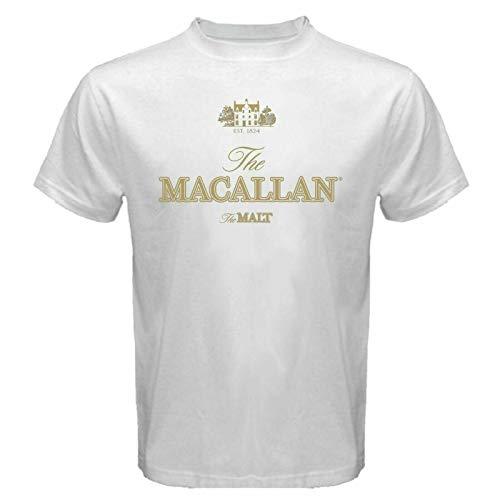 The MACALLAN Est 1824 The Malt Scotch Whisky T-shirts White