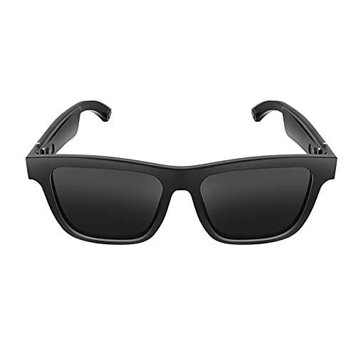 Gafas de Sol Deportivas de Audio Inteligente E10 Auriculares Inalámbricos de Música BT5.0 Y Gafas Protectoras UV Gafas de Sol de Audio sin Manos con Micrófono para Hombres Y