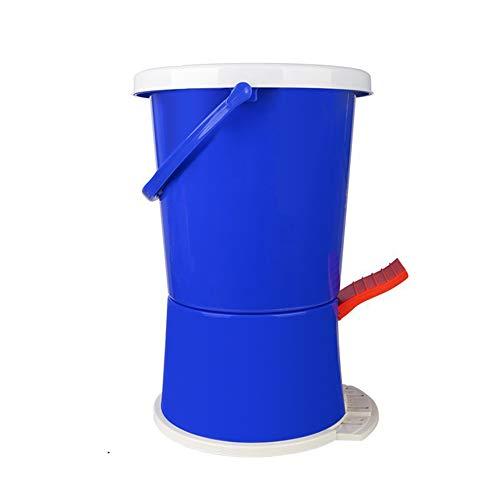 Mini Lavadora Pisar Ropa Portátil Equipo Manual Compacta Interior Aparatos Limpieza Washing Machine para Viajes Camping Apartamentos Dormitorios,Blue