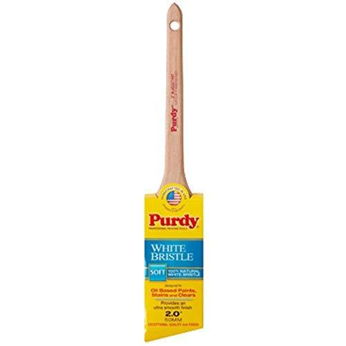 Purdy 144024420 White Bristle Series Adjutant Angle Sash  Paint Brush, 2 inch