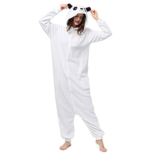 Katara- Pijamas Enteros Diferentes Animales y Tamaños, Adultos Unisex, Color Oso Polar Blanco, Talla 165-175cm (1744)