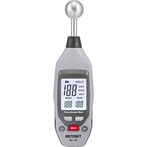 VOLTCRAFT MF-90 Materialfeuchtemessgerät Messbereich Baufeuchtigkeit (Bereich) 0 bis 100{6f751c87b8bb98d34009fc1ccade05eb86f1c3238de830f08a6ac114ef390509} vol Messbereich Holzfeuchtig
