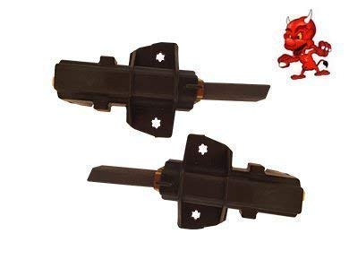 Kohlebürsten Motorkohlen für Bauknecht WA1600DOLPHIN-D, WA2140/WS-D mit CESET Motor