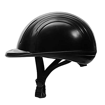 TuffRider Starter Basic Horse Riding Helmet   Protective Head Gear for Equestrian Riders - SEI Certified, Tough and Durable - Black from JPC Equestrian Inc