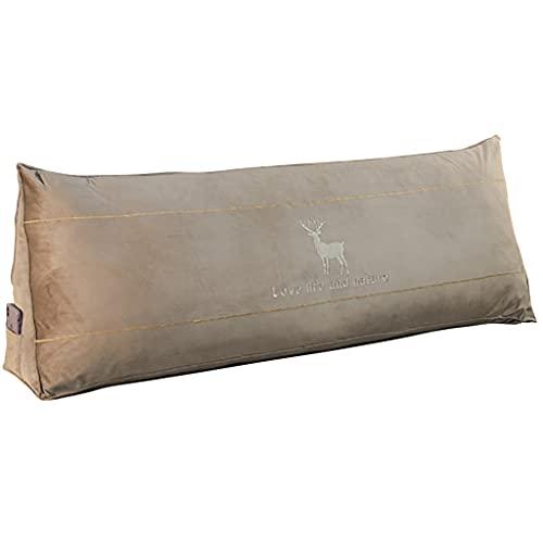 Almohada de cuña de Cama cojín Triangular de 32-80 Pulgadas Almohada de Lectura con Funda extraíble sofá, Dormitorio, tapete de Tatami Disponible