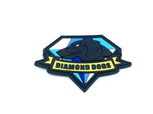 Diamond Dogs metal gear Solid Cosplay Airsoft PVC Parche