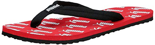 PUMA Unisex-Erwachsene Epic Flip V2 Amplified Zapatos de Playa y Piscina, Rot (High Risk Red Black White), 35.5 EU