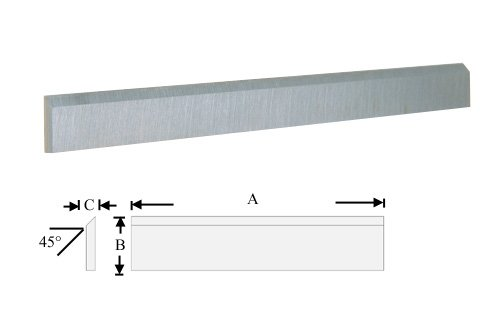 """High Speed Steel Planer and Jointer Knife Set - Fits Delta DC-380, Grizzly G6701, Reliant, Woodtek, TLL, Jet, Powermatic 15, Most 15"""" Imports"""