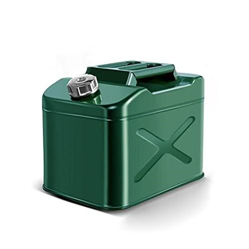 ZWB Lata De Gasolina De Metal 10L 20L 25l para Gasolina Diésel Y Aceite Lata De Gasolina con Pico Flexible Tanque De Gas De Almacenamiento De Diésel para La Mayoría De Los Coches