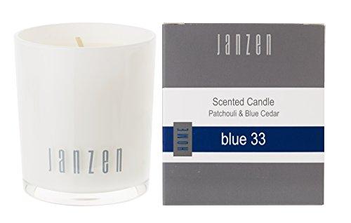 Janzen geurkaars blue 33, per stuk verpakt (1 x 135 g)