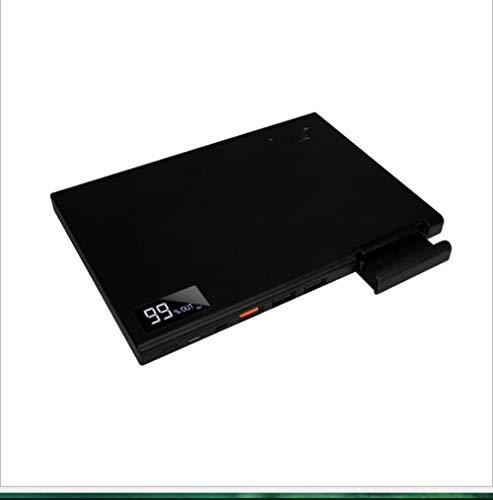 SPARKX 30000Mah Banque De Puissance, Entrées Ultra-Mince 3 Et 3 Sorties Et Un Support De Téléphone Mobile, Adapté pour Iphone 11, Ipad, Samsung Galaxy S10, Téléphones Intelligents, Etc.