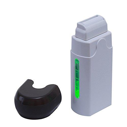 Enthaarungs-Wachs-Heizung Roll-On Cartridge Wachspapier Haarentfernung Wachs-Wärmer-Maschine Einzelne Hand Epilator-Kit