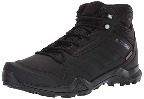adidas outdoor Men's Terrex AX3 BETA MID CW Boot, Black/Black/Grey Five, 14 D US