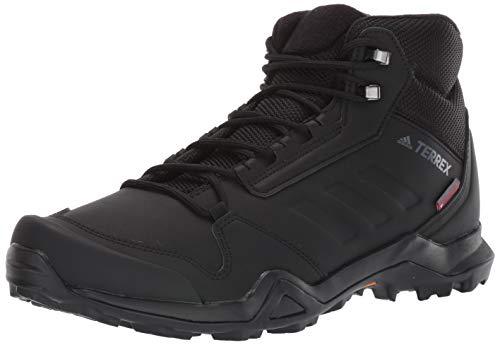 adidas outdoor Men's Terrex AX3 BETA MID CW Boot, Black/Black/Grey Five, 12 D US