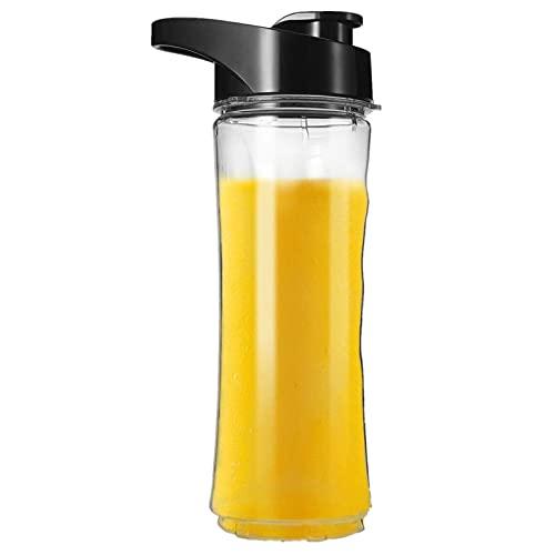Smoothie Bottle, Juicer Spare Bottle/Water Bottle,Replacement Cups Blending Bottle with Super-Seal Leak-Proof Lid, BPA-Free 0.6L,Fits for IMURZ Blender Juicer 632, 637