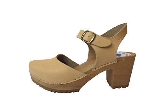 Schwedische Sandalen | Sandalen 2020 | Leder | NUBUK | Handgemachte Sandalen