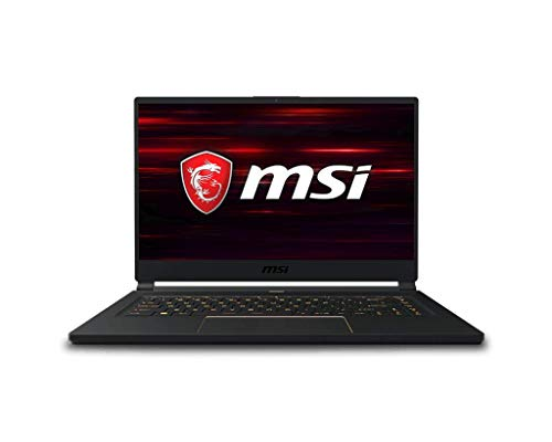 "MSI GS65 Stealth 9SG-453ES - Ordenador portátil de 15.6"" FullHD 250Hz (Intel Core i7-9750H, 32 GB RAM, 2 TB SSD, Nvidia RTX 2080-8 GB, Windows 10 Home) - Teclado QWERTY Español"