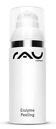 RAU Enzyme Peeling 50 ml - Enzympeeling, Gesichtspeeling für Tiefenreinigung auf Enzymatischer Basis, Sanftes Peeling für Sensible Haut