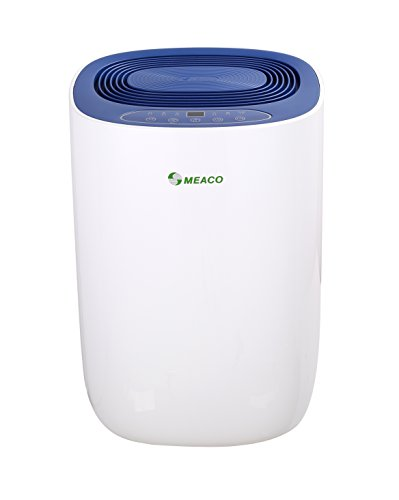Meaco MeacoDry Dehumidifier ABC Range 12LB (Blue) Ultra-Quiet, Energy Efficient, Laundry Mode, Auto-Off, Auto De-Frost - Ideal for Damp and Condensation in The Home