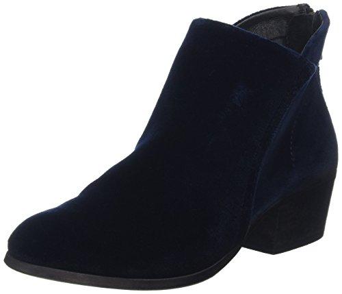 Hudson Damen Apisi Velvet Stiefeletten, Blau (Navy), 37 EU