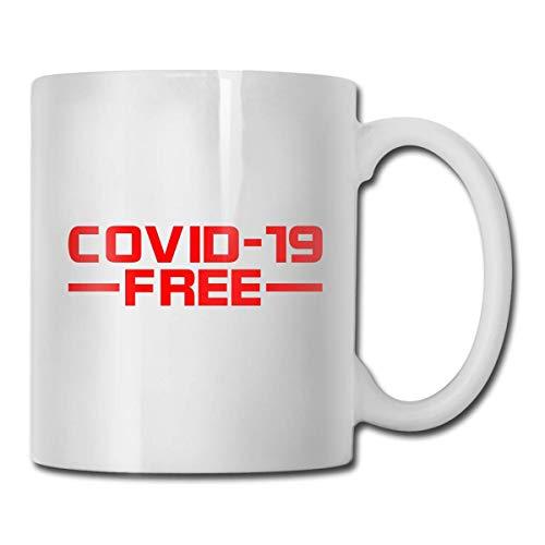 Funny Mug 11OZ - Covid-19 Gratis - Il regalo più creativo e unico per colleghi, dirigenti, parenti e amici.