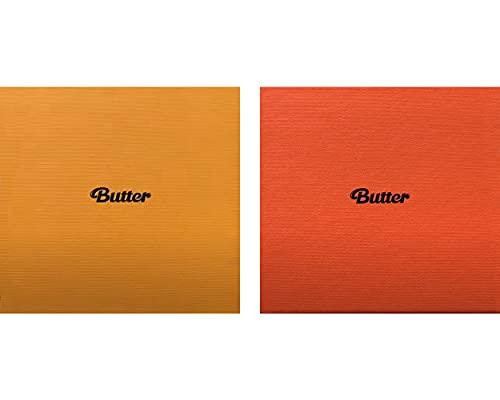 BTS - Juego de álbum de mantequilla (6 tarjetas fotográficas, 1 tarjeta de fotos de...