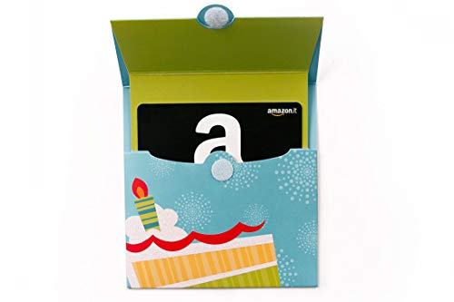 Buono Regalo Amazon.it - Busta di Compleanno
