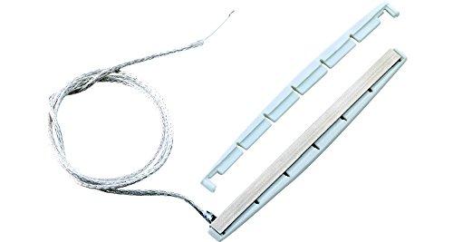 Shadow SH 091 Piezo Pickup - Pastilla para guitarras acústicas occidentales (incluye sillín de puente)