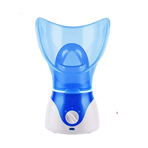 Facial Steamer,Professional Steam Inhaler for Face Sauna Mask Moisturizer-Sinuses With Aroma Diffuser Beauty and Care (purple)