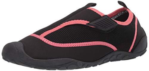 Amazon Essentials Women's Water Shoe, Black, 7/8 M US