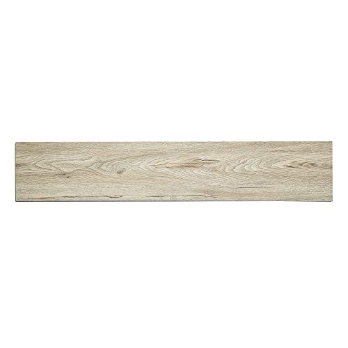 Elegant Vinyl Plank Flooring - Interlocking Floating Planks in Cascade - 21.42 Square Feet of Flooring Per Carton - from The Ascent Collection by Finesse Floors