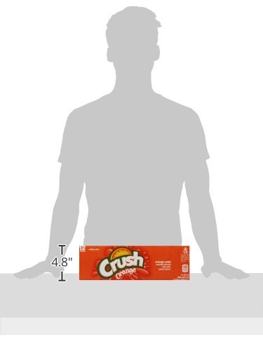 Crush Orange Soda, 12 fl oz (pack of 12)