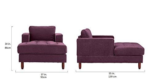 Mid-Century-Modern-Velvet-Fabric-Living-Room-Chaise-Lounge
