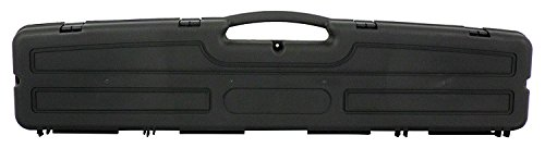 """Condition 1 48"""" Single Scope Hard Plastic Rifle Case, Black - Scratch and Water Resistant - Made in USA - 48.24"""" x 8.28"""" x 3.80"""""""