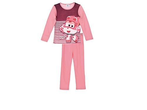 Super Wings Pijama niña rosa 116 cm